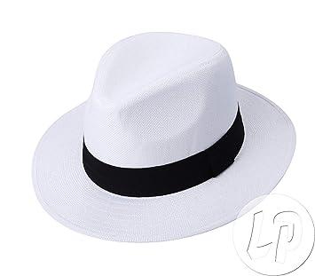 nombreux dans la variété grande vente de liquidation chaussure Lot de 48 Chapeaux Panama avec Bandeau Blanc: Amazon.fr ...
