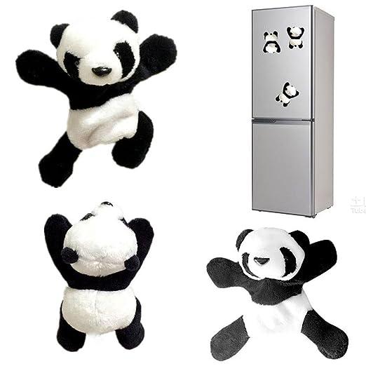 Imán para Nevera con diseño de Oso Panda de Peluche con Texto en ...