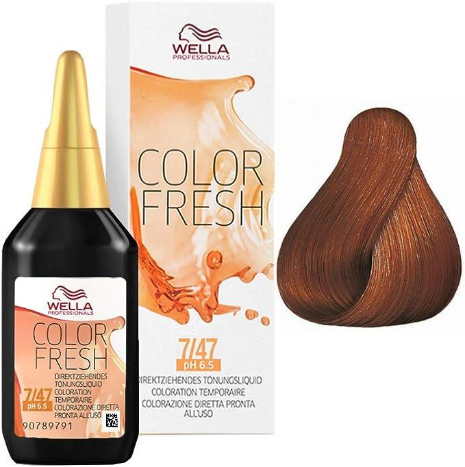 Wella Color Fresh 7/47 mi.blo.rojo-marrón 75 ml