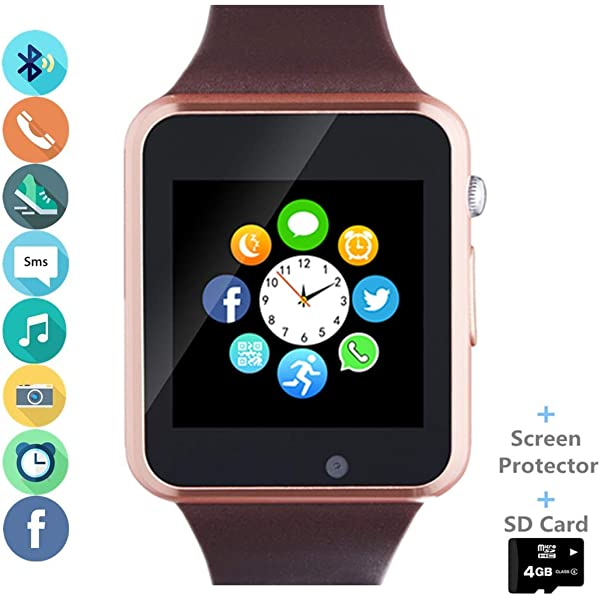 Amazon.com: Reloj inteligente Hocent, reloj inteligente con ...