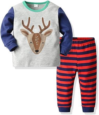 Berimaterry Ropa Bebe Pijamas Familiares de Navidad, Conjuntos ...