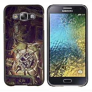 Stuss Case / Funda Carcasa protectora - Mecánica Steampunk - Samsung Galaxy E5 E500