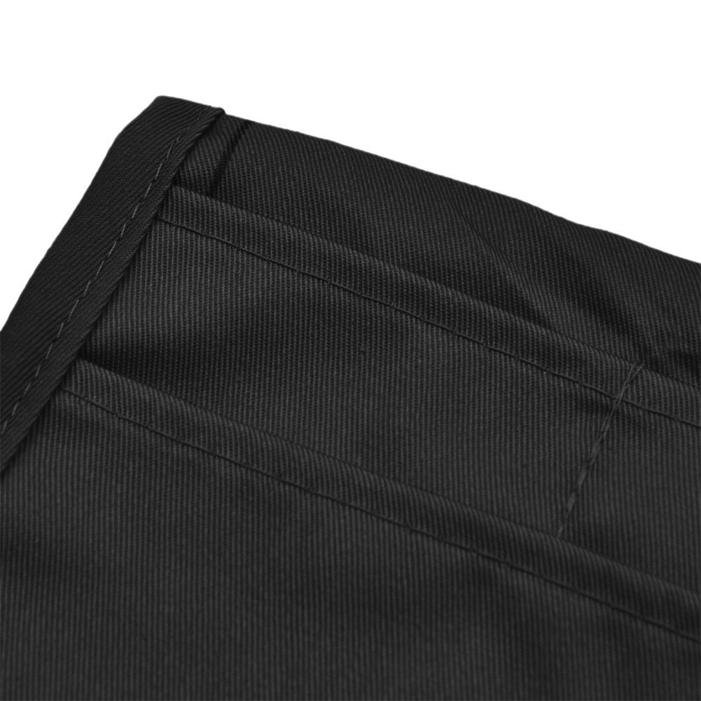 Opromo Money Pouch with Extra Long Waist Ties Chef Apparel Belt Pouch 8.5 W x 13H 8.5 W x 13H 6APN-LE0101
