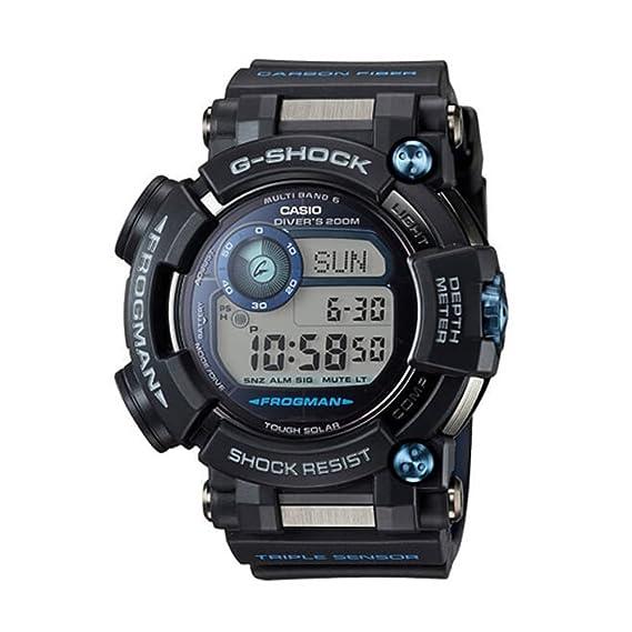 CASIO Reloj Hombre de Digital con Correa en Resina GWF-D1000B-1ER: Amazon.es: Relojes