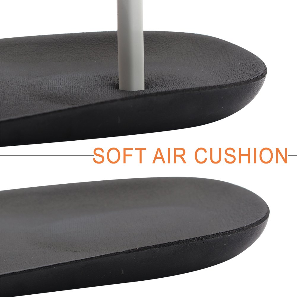 footinsole Dress Shoe Inserts Heel Cushion Insoles – Comfortable - Leather Black by FOOTINSOLE.COM (Image #9)