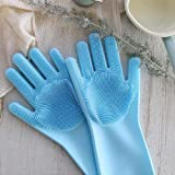 Staron 1 Pair Magic Silicone Gloves with Wash