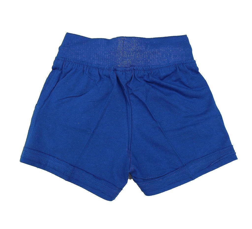 Romano Girls Stylish Cotton Blue Shorts