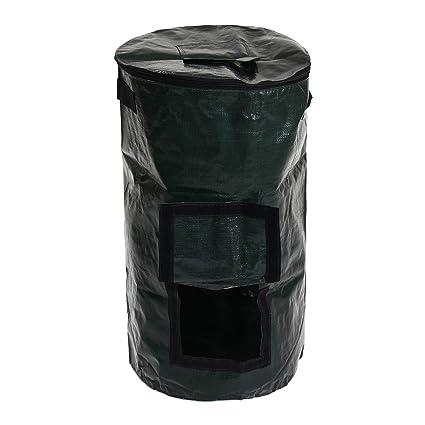 MYAMIA 60L Orgánico Compostador Residuos Convertidor Residuos Eco Amigable Compost Almacenamiento Jardín