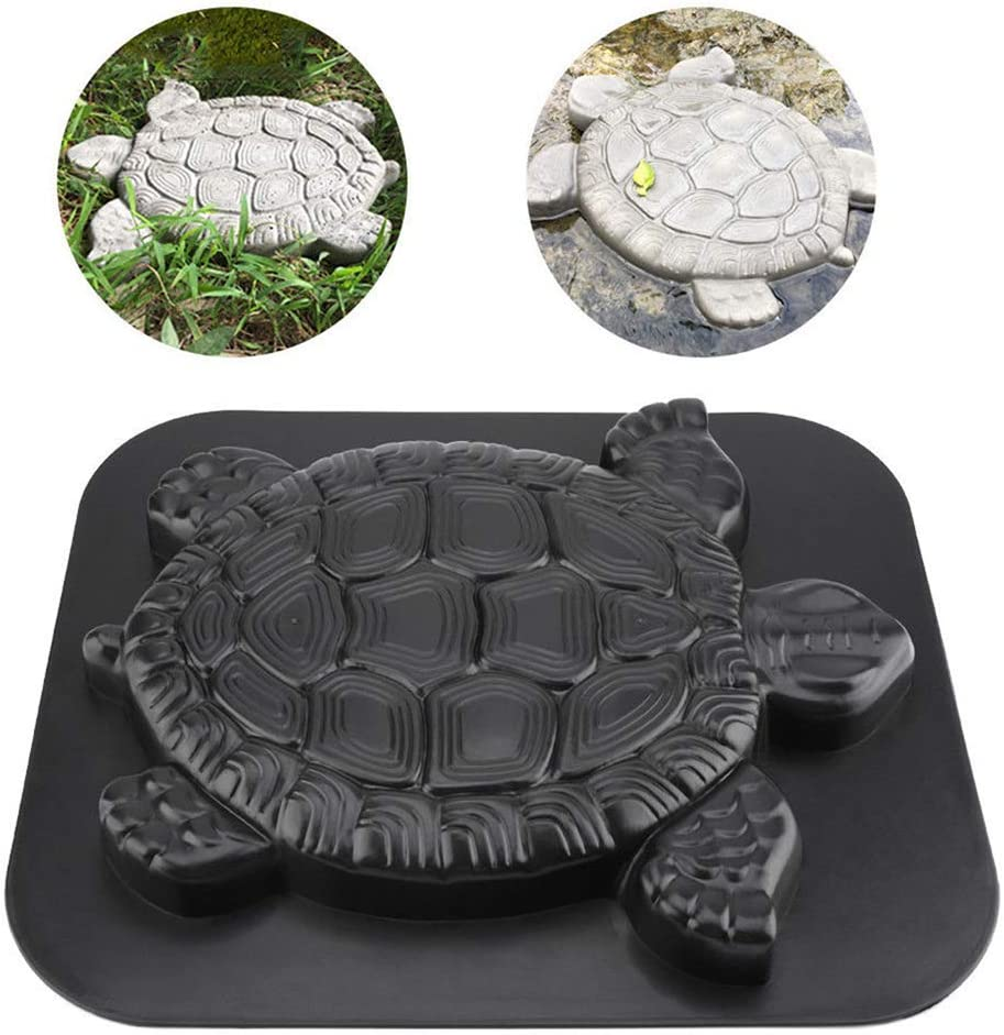 Turtle Paving Stepping Stone Mold Concrete Cement Tortoise Mould Garden Path