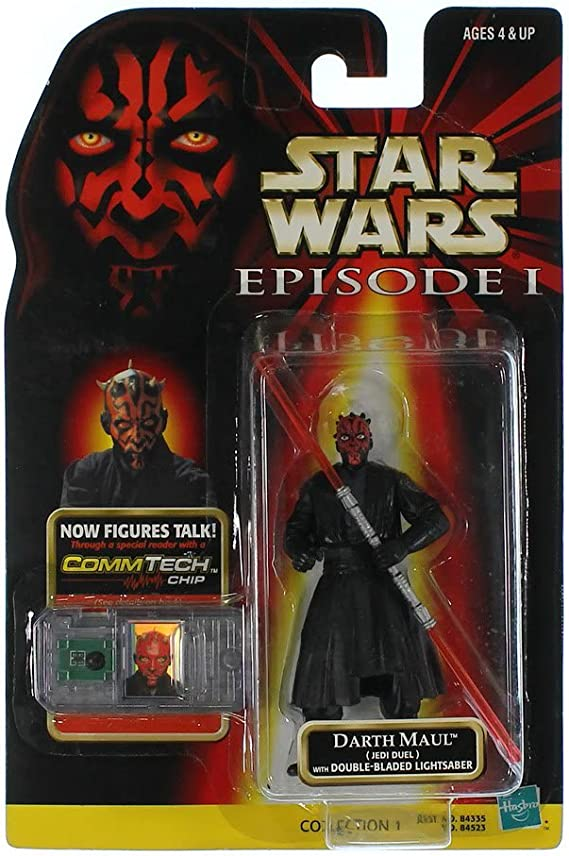 Hasbro 1998 Star Wars Episode 1 Darth Maul duel action Figure New Sealed