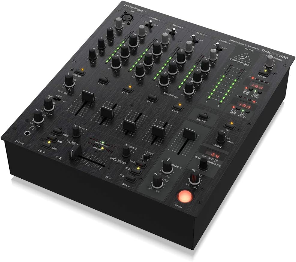 Behringer Pro Mixer profesional de 5 canales para DJ DJX900USB con ...