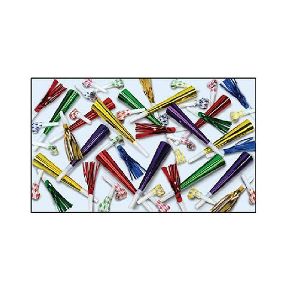 Bargain World Rumpus Noisemaker Assortment (100/pkg) (with Sticky Notes) by Bargain World (Image #1)