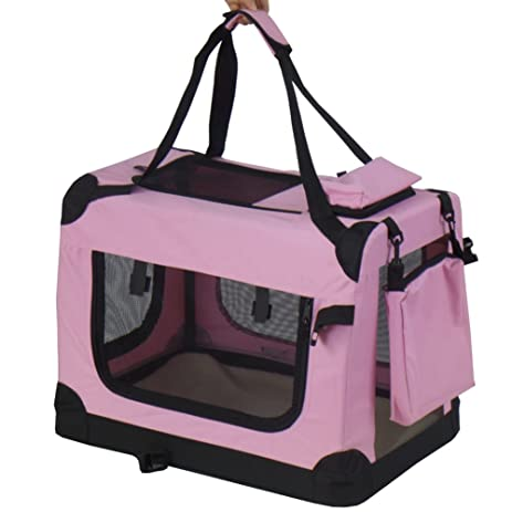 Amazon Com Pet Dog Cat Rabbit Carrying Case Travel Tote Bag