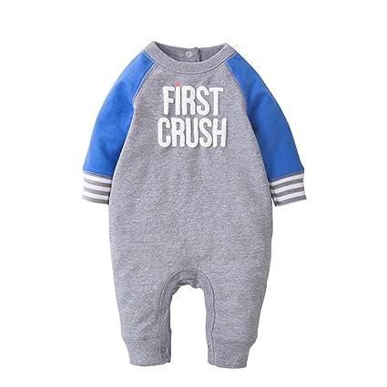 Bebé Mameluco Body - Infantil Pijamas Bebé Peleles Algodón Monos Mangas Largas Niño Trajes