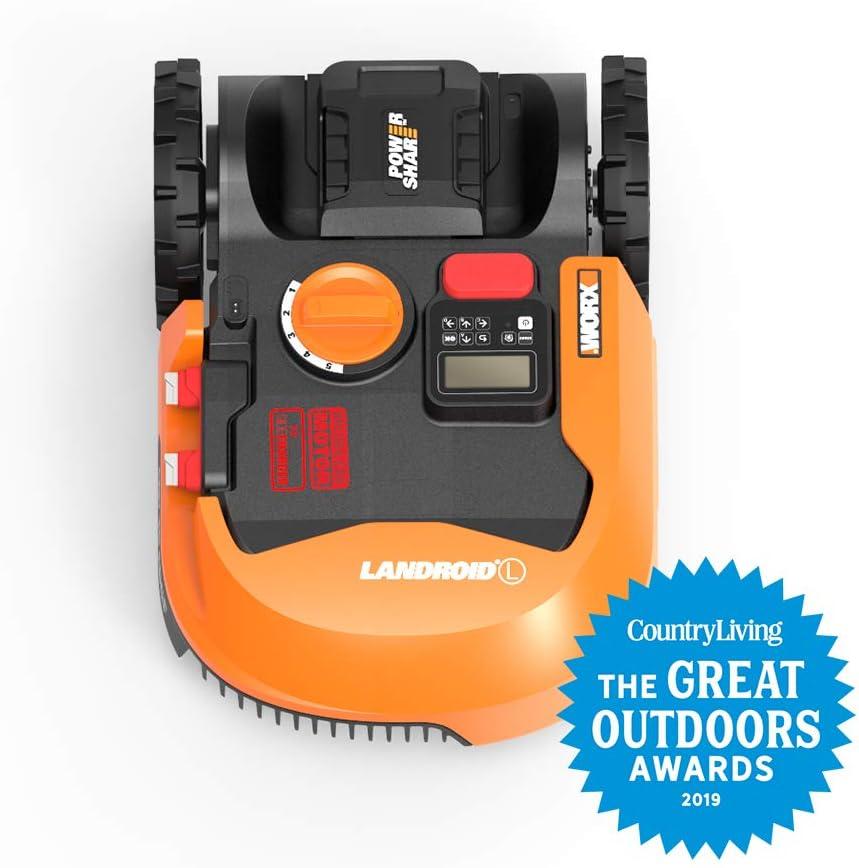 Amazon.com: WORX WR140 Landroid M 20V Robotic cortadora de ...