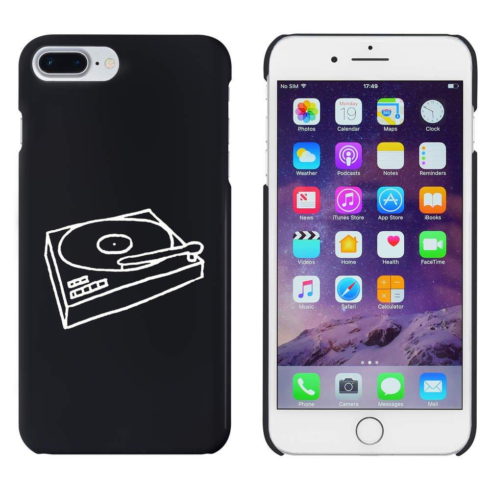 Azeeda Negro Tocadiscos Funda / Carcasa para iPhone 7 Plus ...