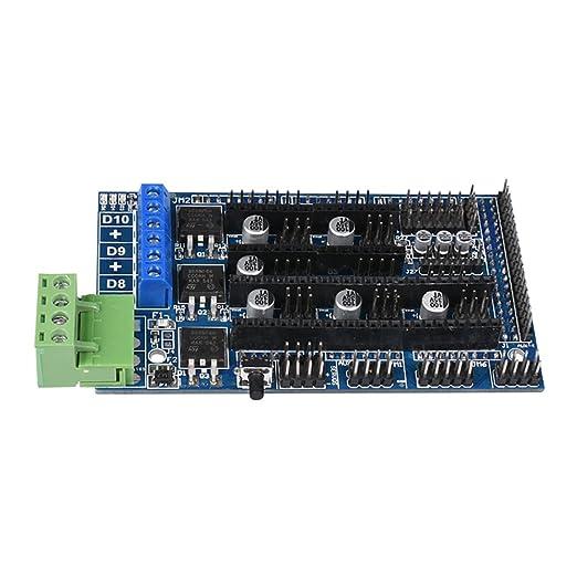 BIQU - Placa controladora RAMPS 1.5 para impresora 3D, compatible ...