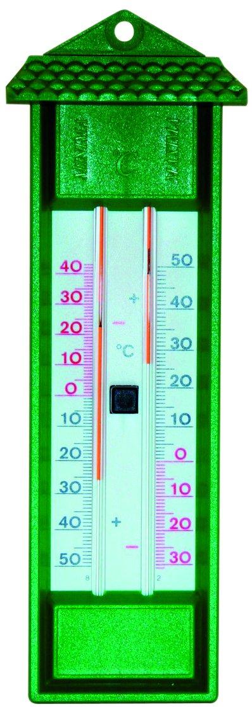 Spear /& Jackson 53106 Thermom/ètre mini maxi digital Vert