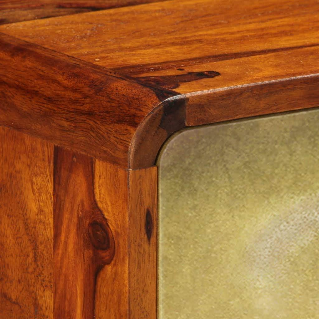 Nishore avec 3 Portes Table dentr/ée Meubles Console 120 x 30 x 80 cm l x P x H