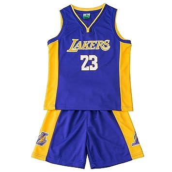 FDRYA Conjunto de Camiseta de Baloncesto de la NBA para ...