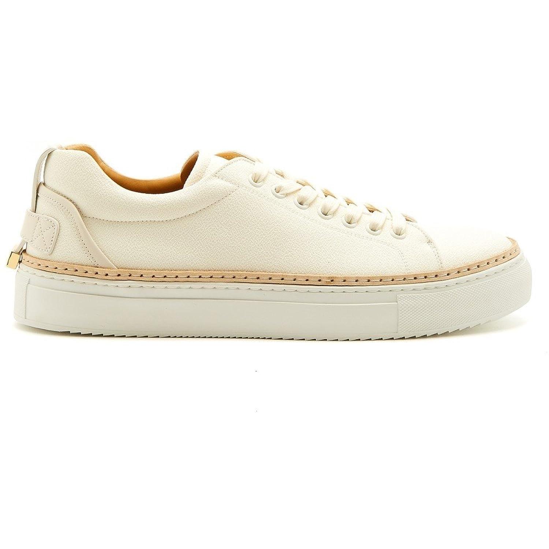 (ブシェミ) Buscemi メンズ シューズ靴 スニーカー Lyndon crepone low-top leather trainers [並行輸入品] B079GNKBCX