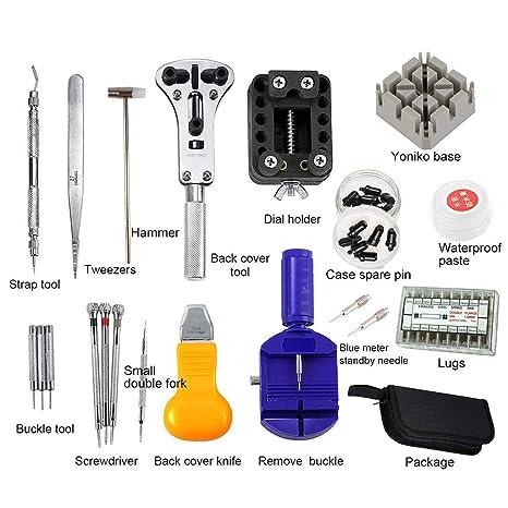 Práctico juego de 380 piezas de herramientas de reparación ...