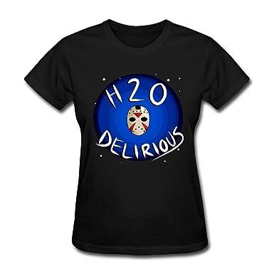 Catees Women's H2O Delirious Real Delirious T-Shirt: Amazon co uk