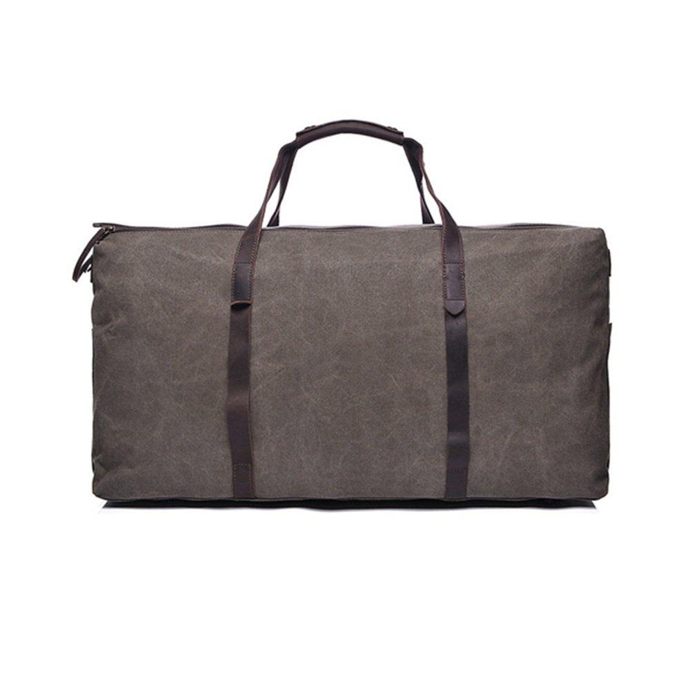 旅行用バッグ キャンバストラベル大容量ハンドバッグシングルショルダークロス多機能荷物袋 キャビンオンフライト&ホールドオール   B07PY5GYN4
