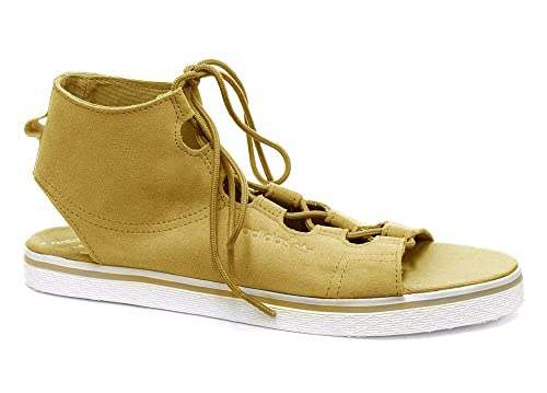reputable site 1f146 4b8d6 adidas, Sandali donna DSandDSandRunWht, Marrone (DsandDsandRunwht), 42  Amazon.it Scarpe e borse