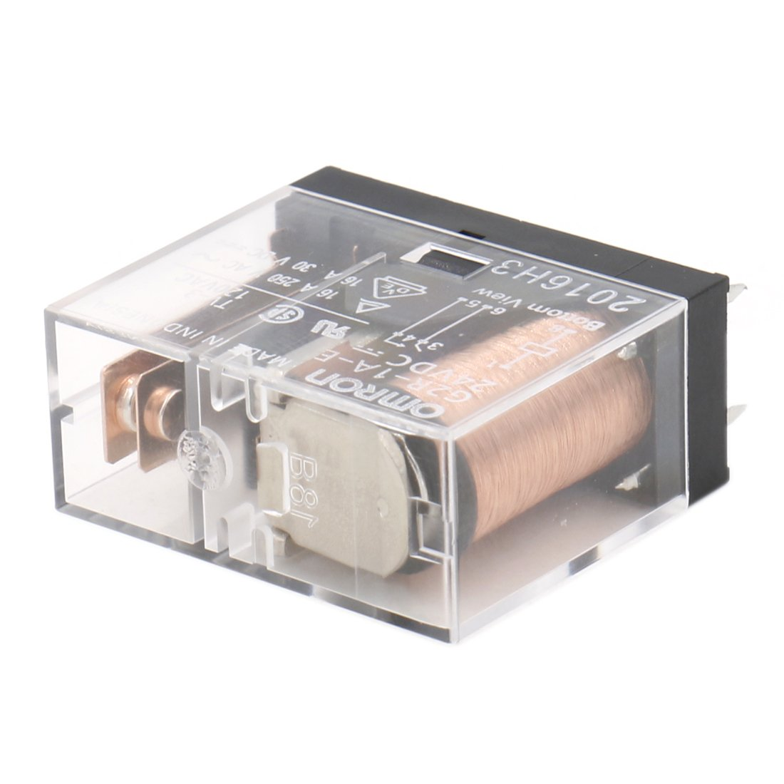 Heschen Relé electromagnético G2R-1A-E 24VDC SPST-NO 16A / 250VAC Montaje PCB 6 pin: Amazon.es: Industria, empresas y ciencia
