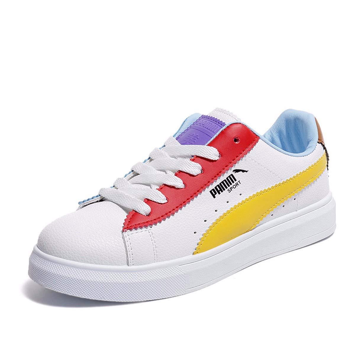 GTVERNH Damenschuhe/Mode/Im Frühling und Sommer Flache Farbe Schuh Runden Kopf Einzigen Schuh Freizeitsport Atmungsaktive Komfort