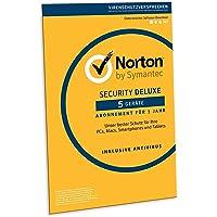 Norton Security Deluxe 2019 | 5 Geräte | 1 Jahr | PC/Mac/iOS/Android | Download