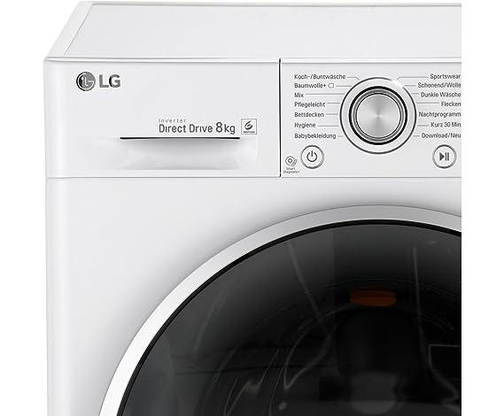 Lg electronics f14wm8cn1 waschvollautomat a 1400 upm 8 kg