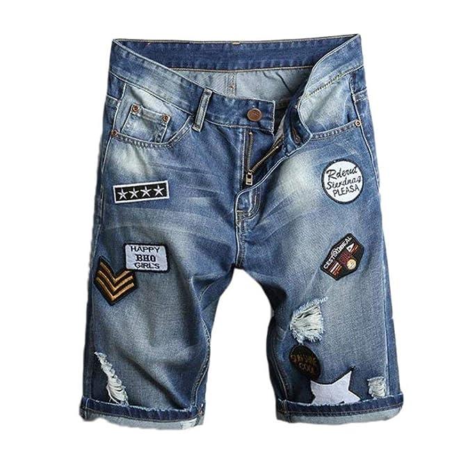 Pantalones Cortos De Mezclilla Pantalones De Hip Hop ...
