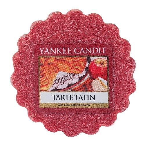 YANKEE CANDLE Tarte Tatin Tart da Fondere, Cera, Rosso, 5.9 x 5.7 x 2 cm 532489