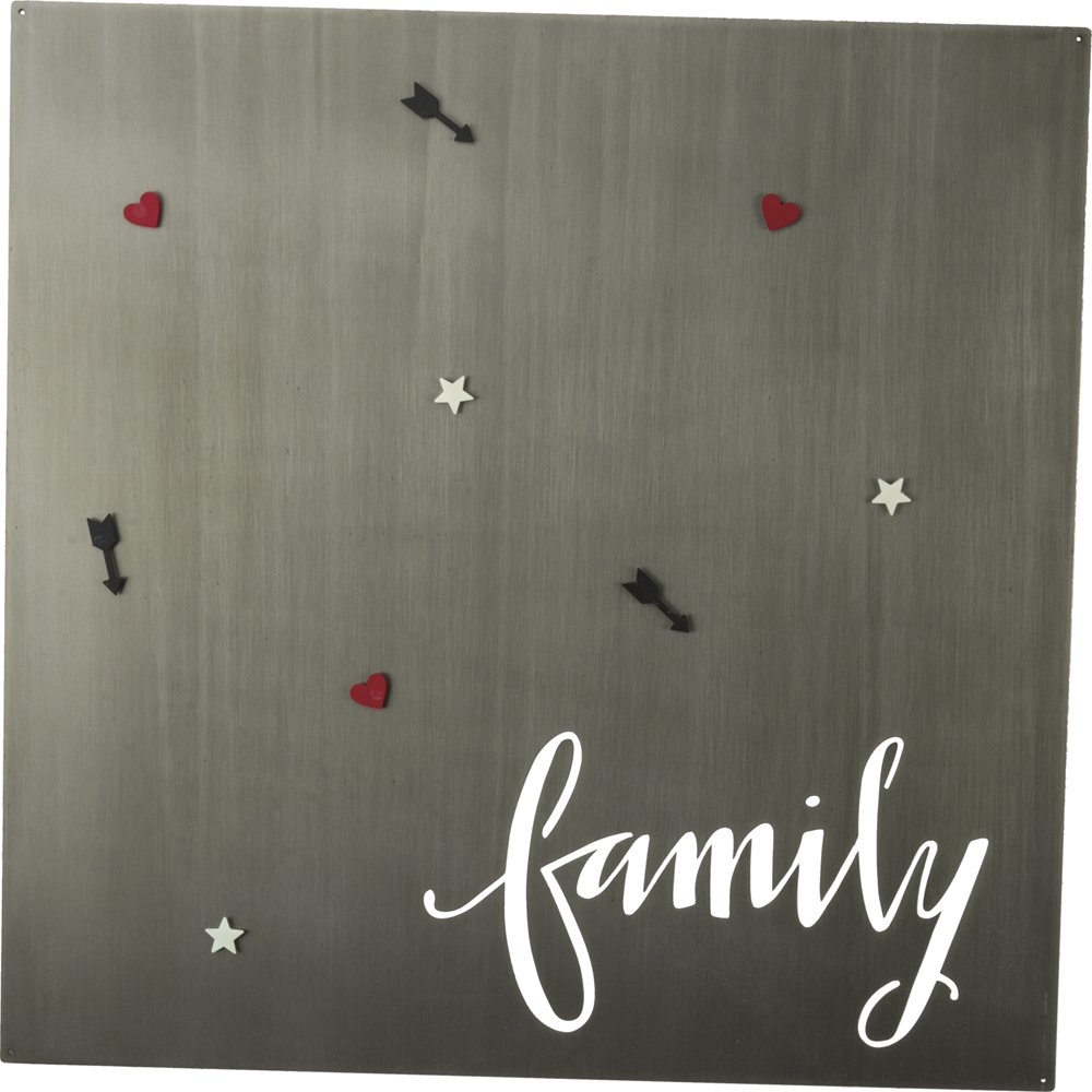 Metal Magnet Board - Family