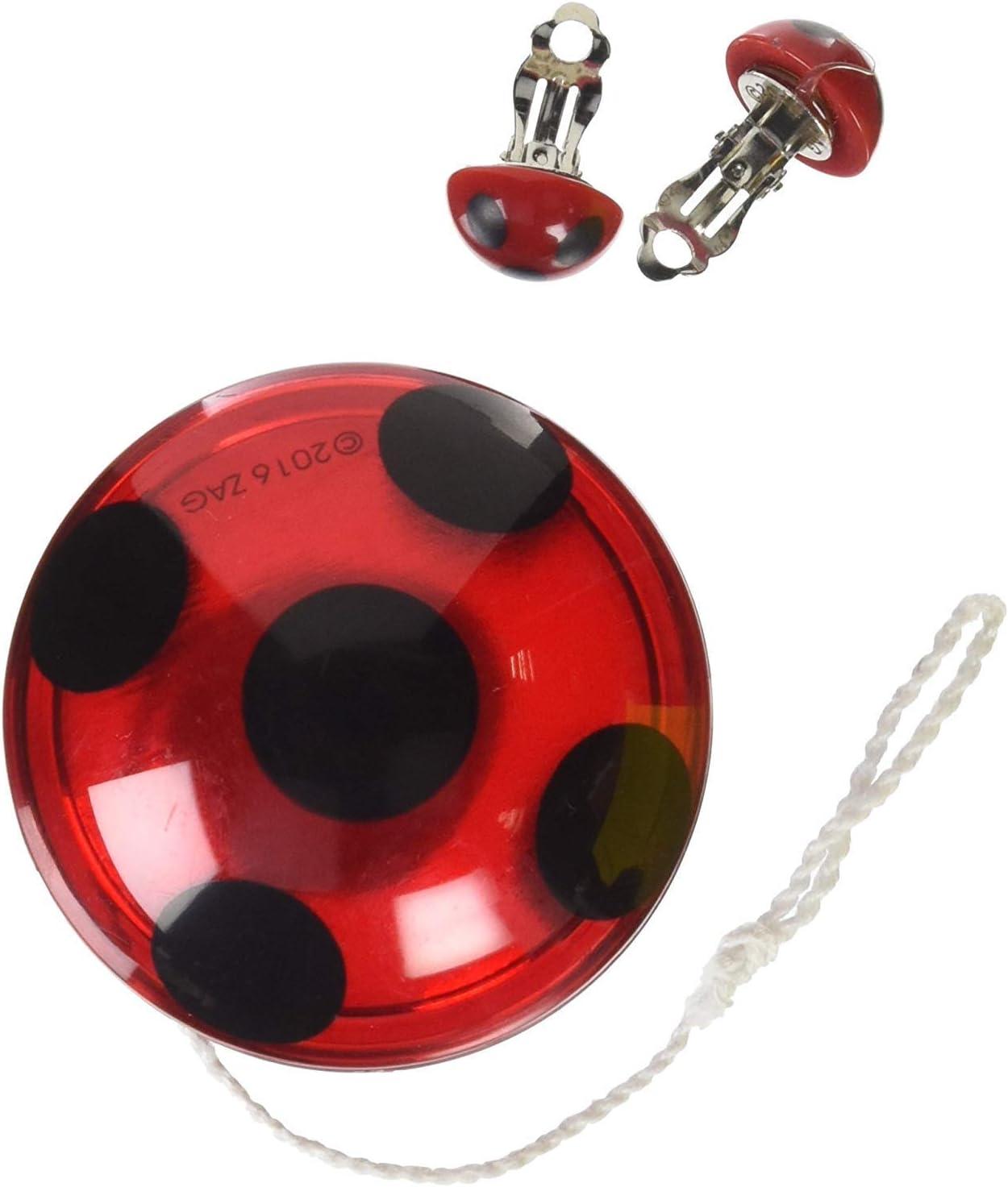 Miraculous Ladybug - Set YO-YO y las pendientes: Amazon.es ...