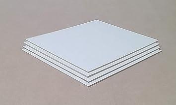Sonderma/ße auf Anfrage. 5mm starke MDF Platten wei/ß,Holzplatten Verpackungsplatten 80x80cm Abdeckplatten