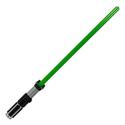 Unbranded New Disney Parks Star Wars Luke Skywalker Green Lightsaber Lights & Sounds FX: Toys & Games