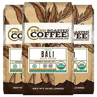 Bali Blue Moon Organic, Rain Forest Alliance Coffee, Fresh Roasted Coffee LLC.