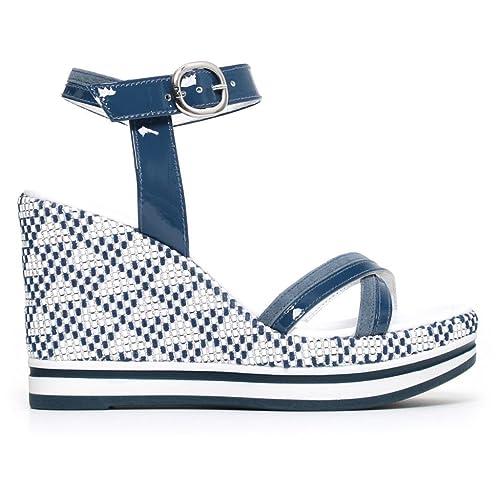 Sandalo NERO GIARDINI P805901D Color Blu