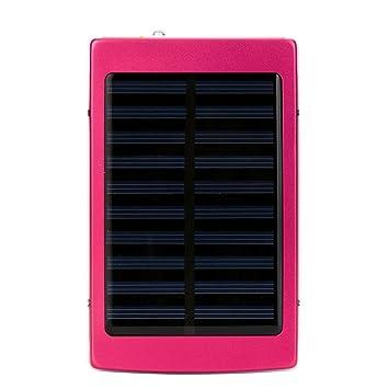 gaddrt Cargador Solar banco de la energía 20000 mAh Dual USB ...