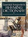 Essential Songwriter's Toolkit Rhyming Dictionary: Pocket Size Book