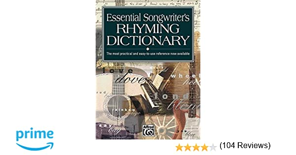 Essential Songwriter's Rhyming Dictionary: Pocket Size Book: Kevin ...