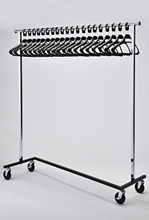 office coat racks. RACK52 Mobile Chrome Coat Stand. Office Rack With Black Hangers Racks