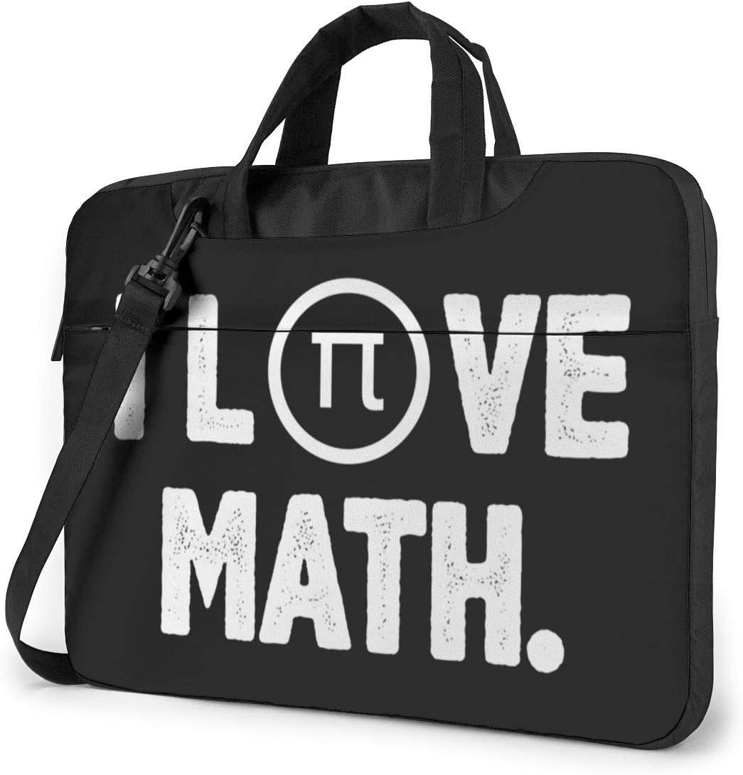 I Love Math Shoulder Shockproof Laptop Bag Laptop Sleeve Case Ultra-Slim Laptop Computer Pouch Bag 13//14//15.6 Inch