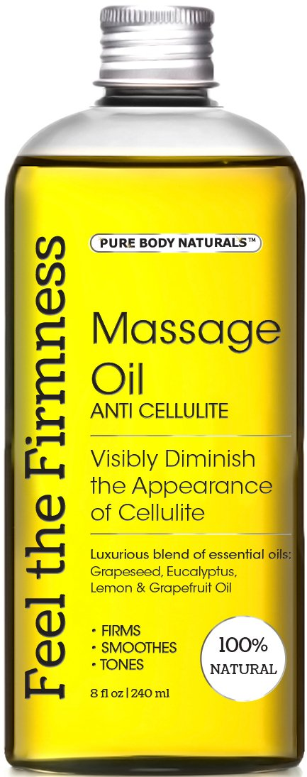 Massage Oil & Anti Cellulite Oil - Muscle Relaxation Oil 100% Natural Anti Ce.. 8