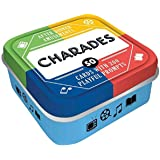 After Dinner Amusements: Charades: 50 Cards with 200 Playful Prompts (Charades Game for Adults and Family, Portable Camping a