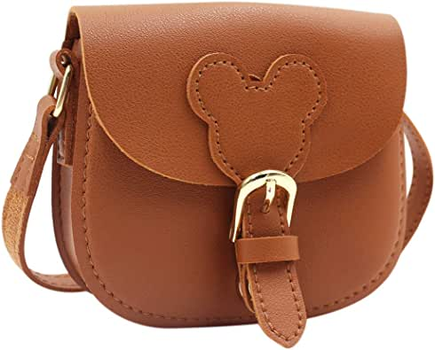 Little Girls Purse Cute Leather Crossbody Bag Mini Shoulder Bag for Kids,Toddler