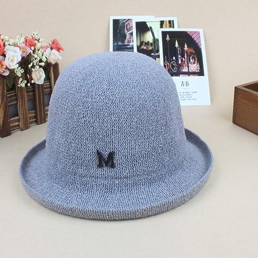 zhuzhuwen Sombrero de Dama Transpirable Sombrero de Pescador ...